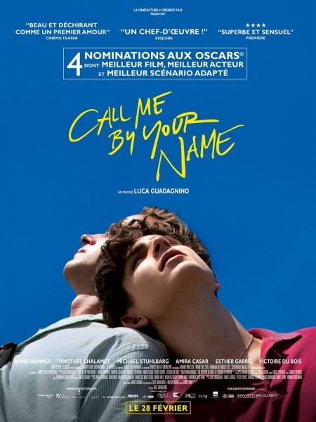 Cinéma : Call me by your name